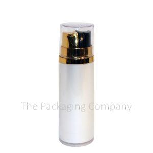 dual chamber dip tube bottle, customise round dual chamber dip tube bottle