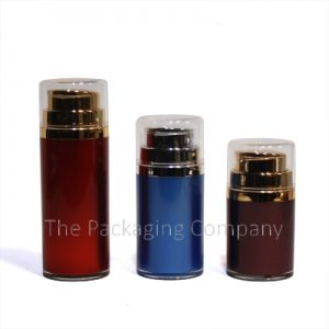 airless bottles pp in 30 ml, 50 ml, and 80 ml