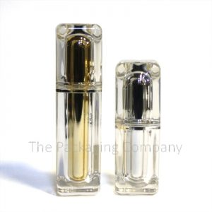 Buy Square-Double walled Dip Tube Bottle