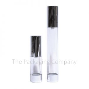 Cylinder Airless Bottle in two sizes