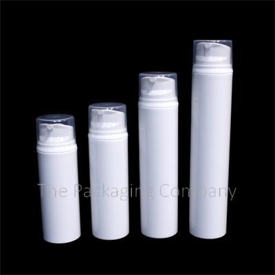 Airless Pump Large Bottles (30-200ml); Custom Finish and Printing