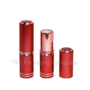 Aluminum Case Lip Stick; Custom Finish and Printing