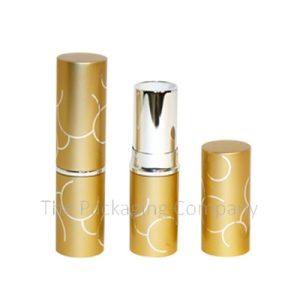 Aluminum Round Lipstick Case Custom Printing and Color