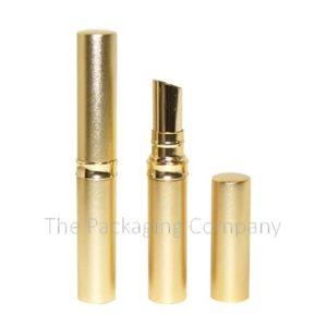 Aluminum Slim Lip Stick Case; Custom Finish and Printing