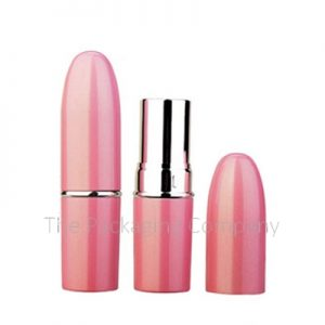 Aluminum Container Lipstick Case; Custom Finish and Printing