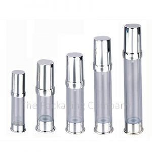 5 Ring Airless Bottles in various sizes