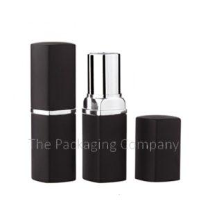 Square Aluminum Lip Stick Cases; Custom Finish and Printing