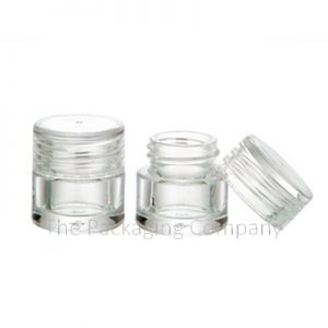 1 and 2 ml Small Jar with Custom Printing and Finish