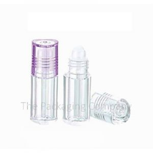 Lip Gloss Container Roller Ball with the capacity of 3 ml; Custom Finish and Printing