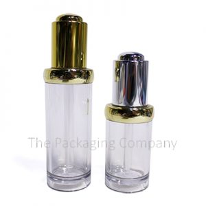 Push button dropper bottles; with Custom Printing and Finish (20 & 30 ml)