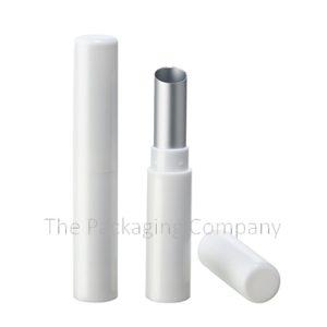 Plastic Slim Lipstick Case; Custom Finish and Printing