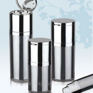 four samples of the airless bottle with mirror