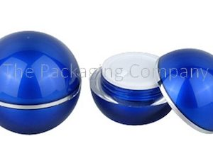 Sphere Shaped Jar; with Custom Printing and Finish; 15, 30, 50 ml capacity