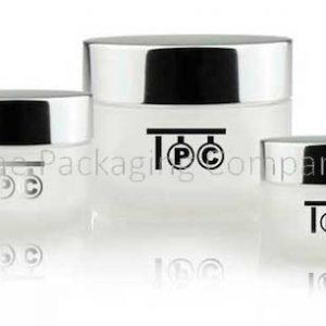 Acrylic Jars (15, 30, & 50 ml); Custom Printing and Finish
