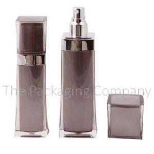 Square acrylic lotion bottle, Lotion bottle, Cream bottle