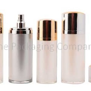 oval cosmetic bottle, high end cosmetic bottle, oval cream bottle, skincare bottle