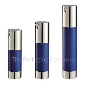 Capless Airless Bottles in 3 various sizes