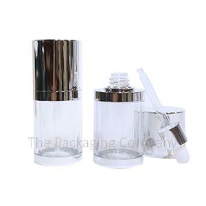 Plastic Dropper Bottles with Flush Cap