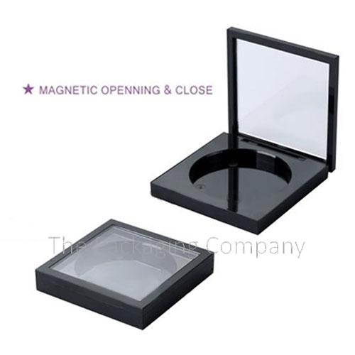 Compact Magnetic Opening Closure Custom design with PMS color, finish, & printing (silkscreen, hot stamp)