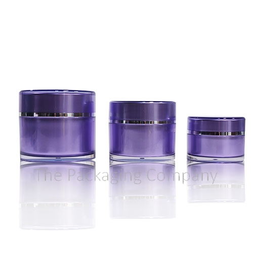 Lotion Moisturizer Jar for Cosmetic MakeUp Beauty Packaging such as Lotions and Serums