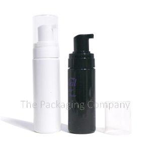 Foaming pump bottle