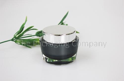Tapered Cosmetic Jar (15, 30, & 50 ml); Custom Printing and Finish