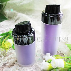 Cylinder Airless Bottle (30 & 50 ml); Custom Finish and Printing