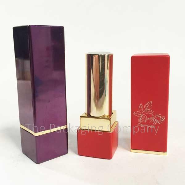 Lipstick Case Aluminum Custom Printing and Color