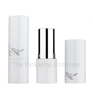 Seamless Aluminum Lipstick Container; Custom Finish and Printing