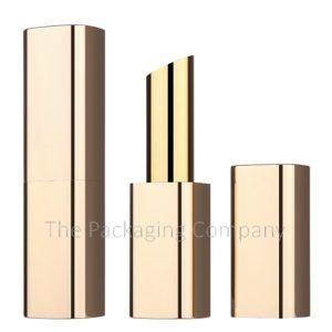 Square Aluminum Magnetic Lipstick Case Custom Finish and Printing