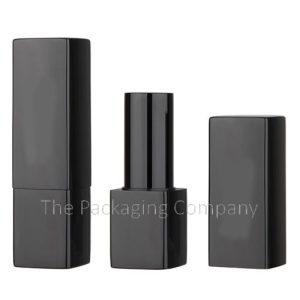 Aluminum square magnetic lipstick case