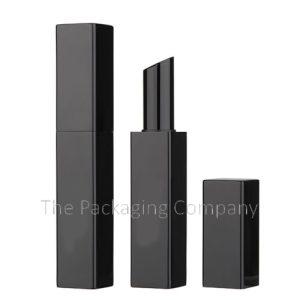 square aluminum lipstick case
