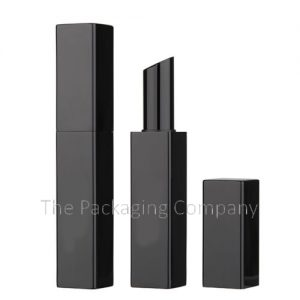 Square Aluminum Lip Stick Case; Custom Finish and Printing