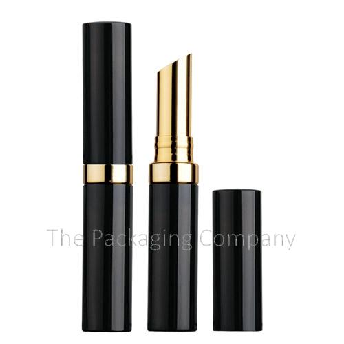 Aluminum Case Band Lipstick; Custom Finish and Printing