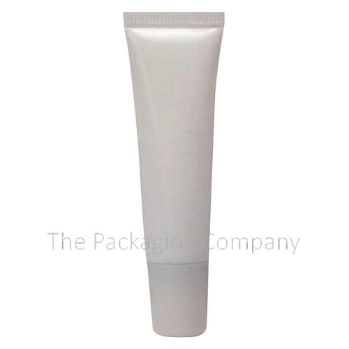 Lip Gloss Tube Slanted Tip Round; Custom Finish and Printing