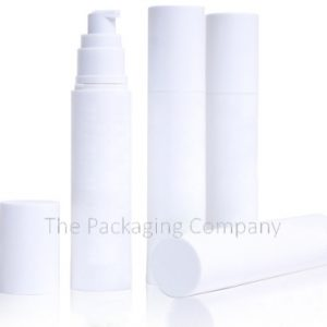 Cylinder Airless Bottles (15, 30, 50 ml)