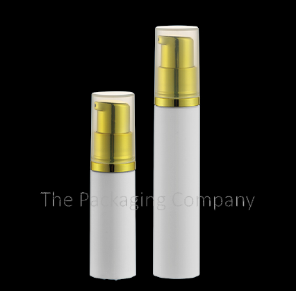 Airless Bottle Travel size (5 and 10 ml); Custom Finish and Printing