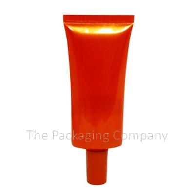 Oval Needle Nose Tube; Custom Finish and Printing
