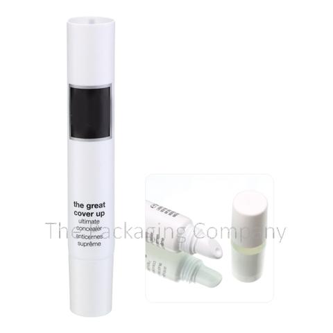 Tube Lip Gloss Under 10 ml custom design with PMS color, finish, & printing (silkscreen, hot stamp)