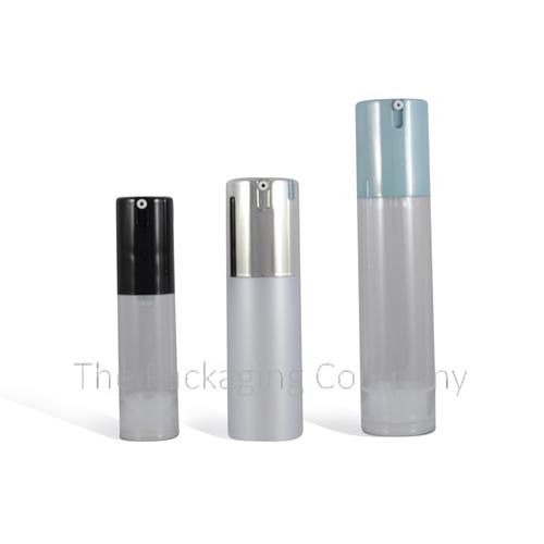 Airless Bottle Acrylic Cap-less