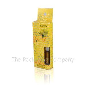 Hemp Packaging Cartridge Box 4 Color Process, Silk Screen, Hot Stamp, UV, Emboss, De-boss