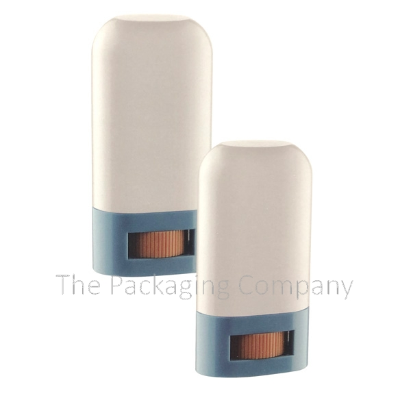 Small Deodorant Case in Plastic with the capacity of 16g, and 20g Silk screen, Hot Stamp, UV Coat, PMS Colors