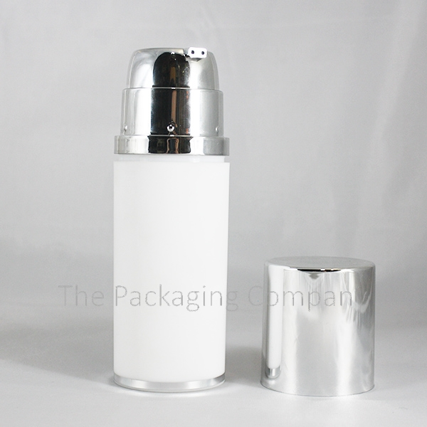 Round Dual Chamber Airless bottle
