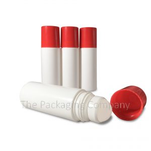 90 ml Red Roll On Bottle; with Custom Printing and Design available