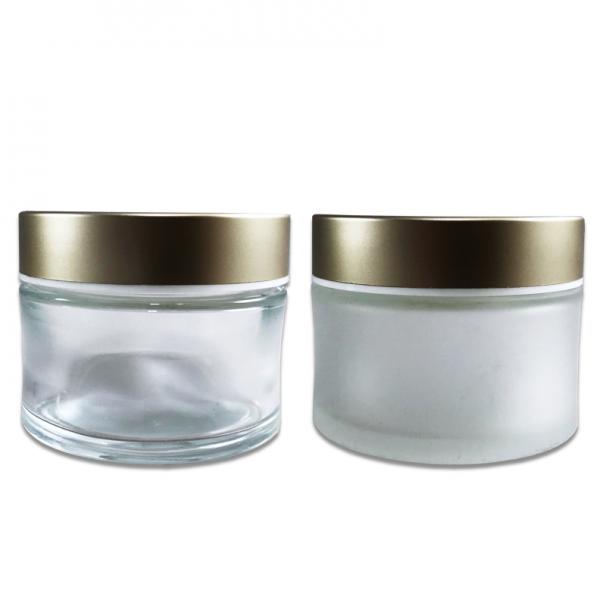 60 ml Child Resistant Glass Jar; Custom Printing and Finish Hot Stamp & Silk Screen Printing