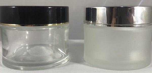 Certified Child proof glass jars 60 ml