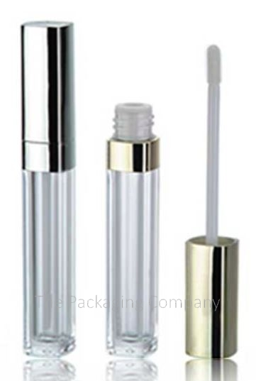 Square Lip Gloss Containers