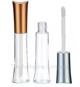 Hour Glass Lip Gloss Container