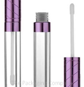Lip Gloss Tube with purple cap
