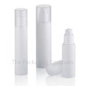 Economical Airless Bottle (30, 50 & 80 ml); with Custom Printing and FInish